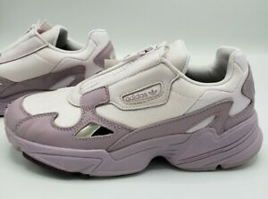 Adidas-Originals-Falcon-Zip-Purple-Violet-Grey-EF1953-Running-Shoes-Women-039-s-7