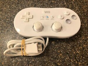 Nintendo-Wii-Authentic-Classic-Controller-Gamepad-RVL-005-Tested-Free-Ship