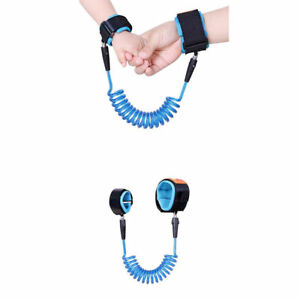 Kids-Baby-Safety-Anti-lost-Strap-Walking-Harness-Toddler-Wrist-Band-Leash-YS