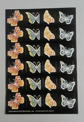 88pcs Butterfly Vellum Stickers for Scrapbook Happy Planner Card Journal Project
