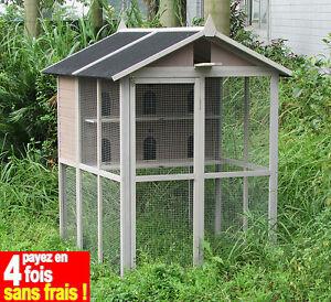 Pigeonnier Bois Volière Pigeons-colombes-tourterelles-100% Sapin Finlande As4499