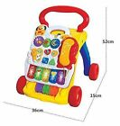 Quickdraw  2 In 1 Children's Musical Activity Centre Push Along Walker