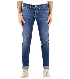 Dondup-Jeans-Uomo-Mod-GEORGE-UP232-DS0189-T14G-Nuovo-e-Originale-SALDI