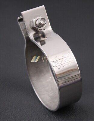 Bmw E82 1er 123d Bastuck Scarico Morsetto In Acciaio Inox 55-59 Mm- Essere Romanzo Nel Design