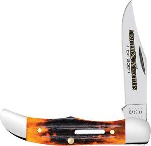 Case xx Pocket Hunter Knife Series XXXVI Second Cut Autumn Bone 1/3000 12182