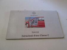 "Manuale uso e manutenzione Mercedes Classe C "" edizione 1997 ""  [3571.14]"