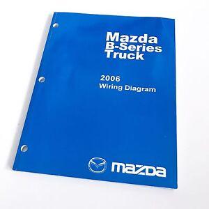 details about 2006 mazda b series truck factory oem wiring diagram service repair manual excalibur wiring diagrams mazda b series wiring diagram #13