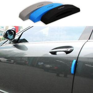 4pcs//set Black EVA Style Car Car Door Side Protector Strips Edge Guards Trim US