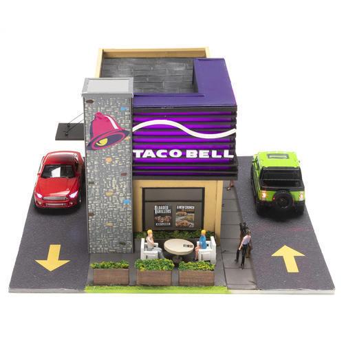 Menards  O Scale Taco Bell Restaurant