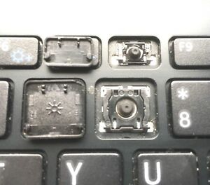 BLACK Non-Backlit Sony SVF152 SVF153 SVF152C29M Single UK Keyboard Key
