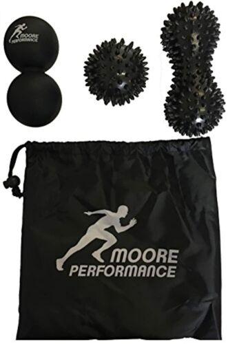 Moore Performance Set von 3 Triggerpoint Massage Bälle