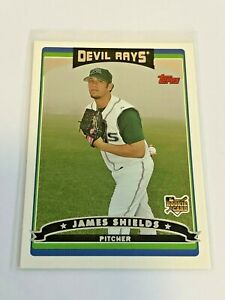 2006-Topps-Update-Baseball-Rookie-Card-James-Shields-RC-Tampa-Bay-Rays