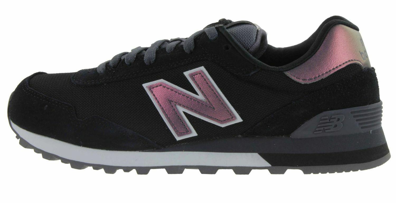 New Balance WL515 Baskets Femme Chaussures de Sport Noir WL515CSD