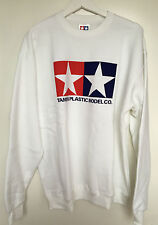 Tamiya 66859 Official Tamiya Logo White Jumper Sweatshirt Extra Large (XL) NEW