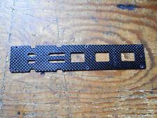 TREX 500 PRO CARBON FIBRE LOWER FRAME SECTION