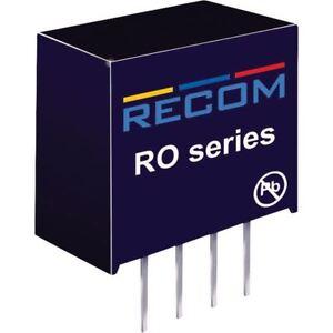 Recom-Internacional-ro-2412s-P-1w-DC-Convertidor-de-cc-24v-en-12v-Sacr-83mA