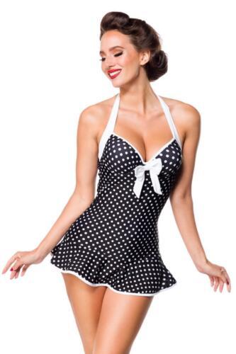 RETRO Vintage Swimdress Schwimmkleid Badekleid Strandkleidung Badeanzug