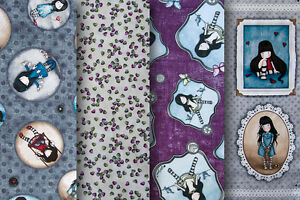 Santoro Gorjuss Fabric 100 Cotton Various Collections Ebay