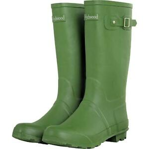 Wychwood Rubber Wellington Boots / Fishing