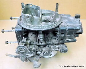 GM-Holley-3878261-EH-Partial-BB-Chevy-Chevelle-Carb-List-3310-For-Parts-Only