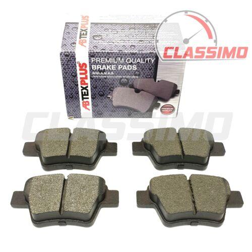 Rear Brake Pads for CITROEN C4 Mk 1 2001-12 PEUGEOT 207 307 Bosch Brakes