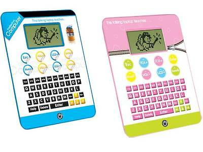 INTERACTIVE TABLET KIDS LEARNING COMPUTER TOY CHILDRENS LAPTOP EDUCATIONAL GAME