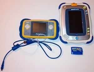 Vtech Mobigo + InnoTab 2 Educational Learning Systems w/ Sofia Game + USB Cable