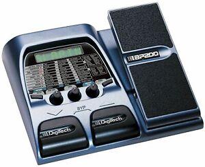 NEW Digitech BP-200 Bass Guitar Multi Effects Pedal Processor Free USA S&H