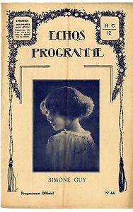 ECHOS-PROGRAMME-n-44-Simone-Guy-LE-LOUPIOT-La-Baillonnee-20-039-s