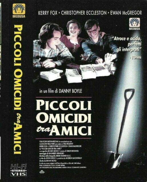PICCOLI OMICIDI tra AMICI (Usa 1994) VHS Medusa Danny Boyle Kerry Fox