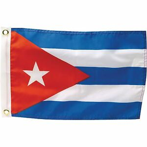Cuba Cuban National Flag 5FT X 3FT Bunting Banner Fan Support Game Football