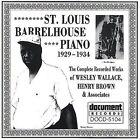 St. Louis Barrelhouse Piano (1929-1934) by Various Artists (CD, Nov-2000, Document (USA))