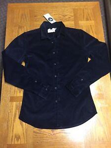 12365e939 TOPMAN MENS ELEGANT Dress SHIRT Suede Medium Black muscle Fit Long ...