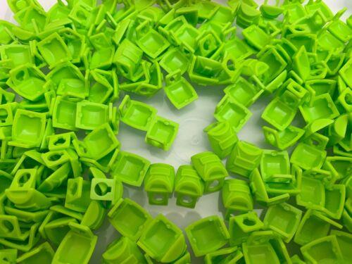 LEGO 12897-2 NEW Lime Green Backpack Bag Minifigure Utensils