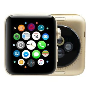 Apple Watch Series 2 42mm Aluminum Gps Gold C Watch Only Ebay