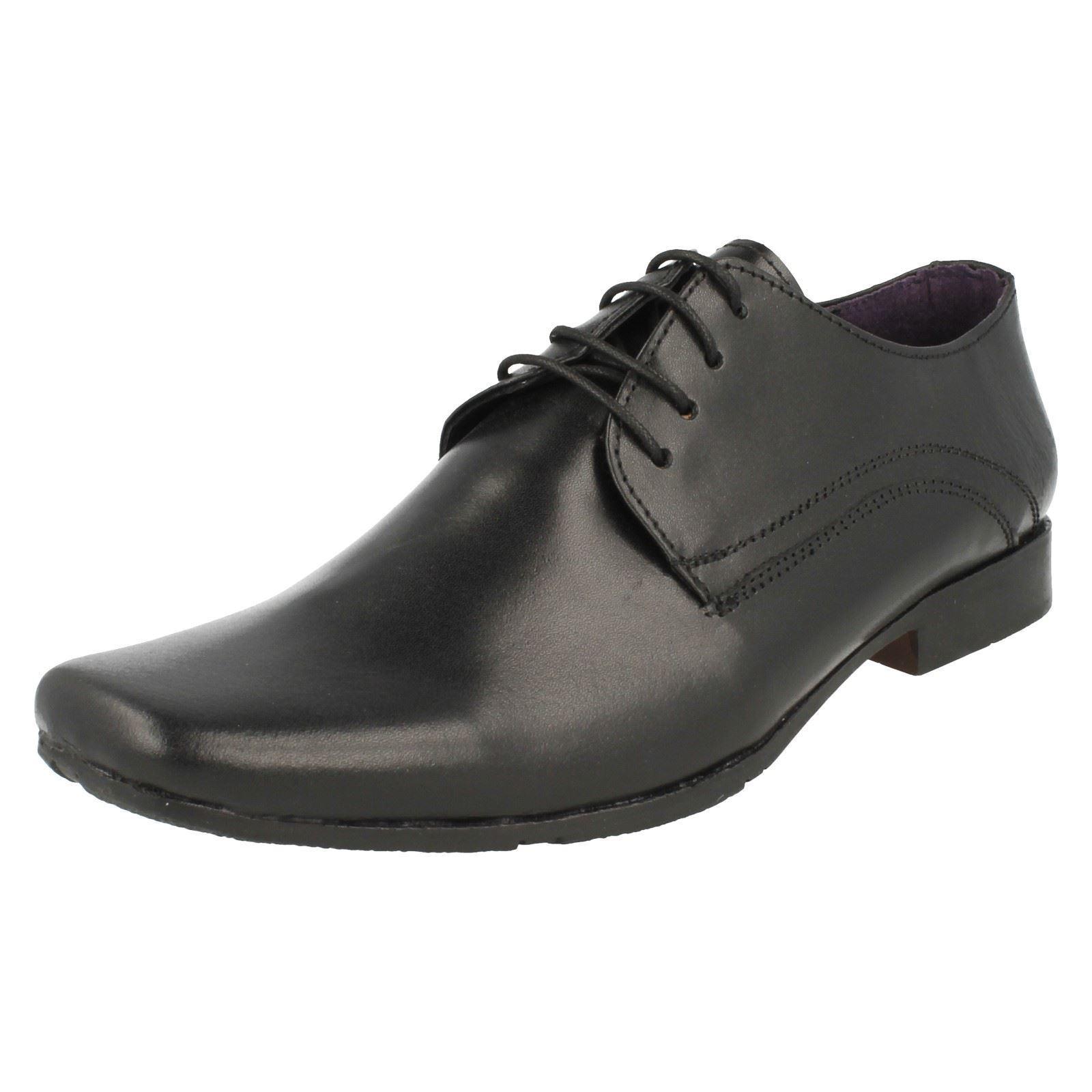 PSL 209682b Piel Con Negra Hombre Elegante Zapatos Con Piel Cordones Estilo Formal df8fa1