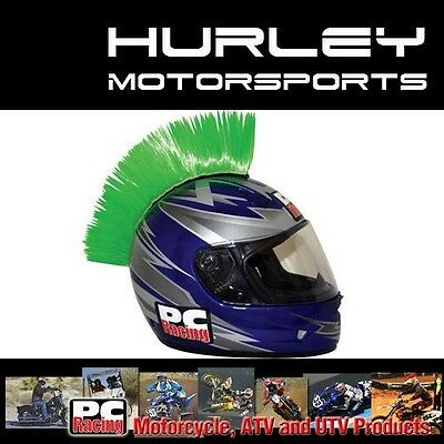 PC Racing Helmet Mohawk Green PCHMGREEN