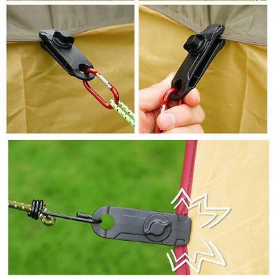 Reusable 10//20PCS Fixed Plastic Clip For Outdoor Tent Canopy Cramp Buckle Useful