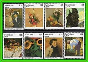 MALDIVES-MUSEUM-PAINTINGS-DEGAS-SEURAT-MONET-VAN-GOGH-MNH