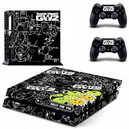 Plants V Zombies 2 Skin Vinyl Decal Sticker for the PlayStation 4 Console PS4