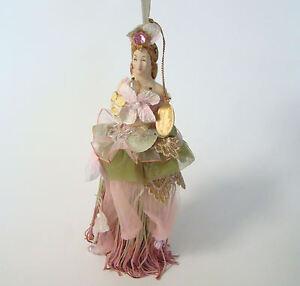 Katherine-039-s-Collection-Hydrangea-Blush-Brunette-Tassel-Doll-in-Pink-Tassels