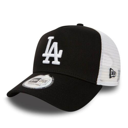 Cap Ajustable Mlb Los Angeles Dodgers Clean Trucker New Era Black Men
