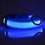 NEW-Dog-LED-Collar-Blinking-Night-Flashing-Light-Up-Glow-Adjustable-Pets-Safety miniature 5