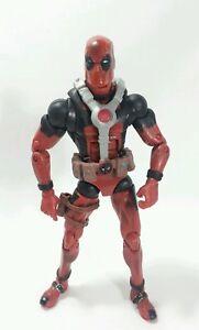 Marvel-Legends-Epic-Heroes-X-Force-DEADPOOL-6-034-Action-Figure-RED-Hasbro-2012