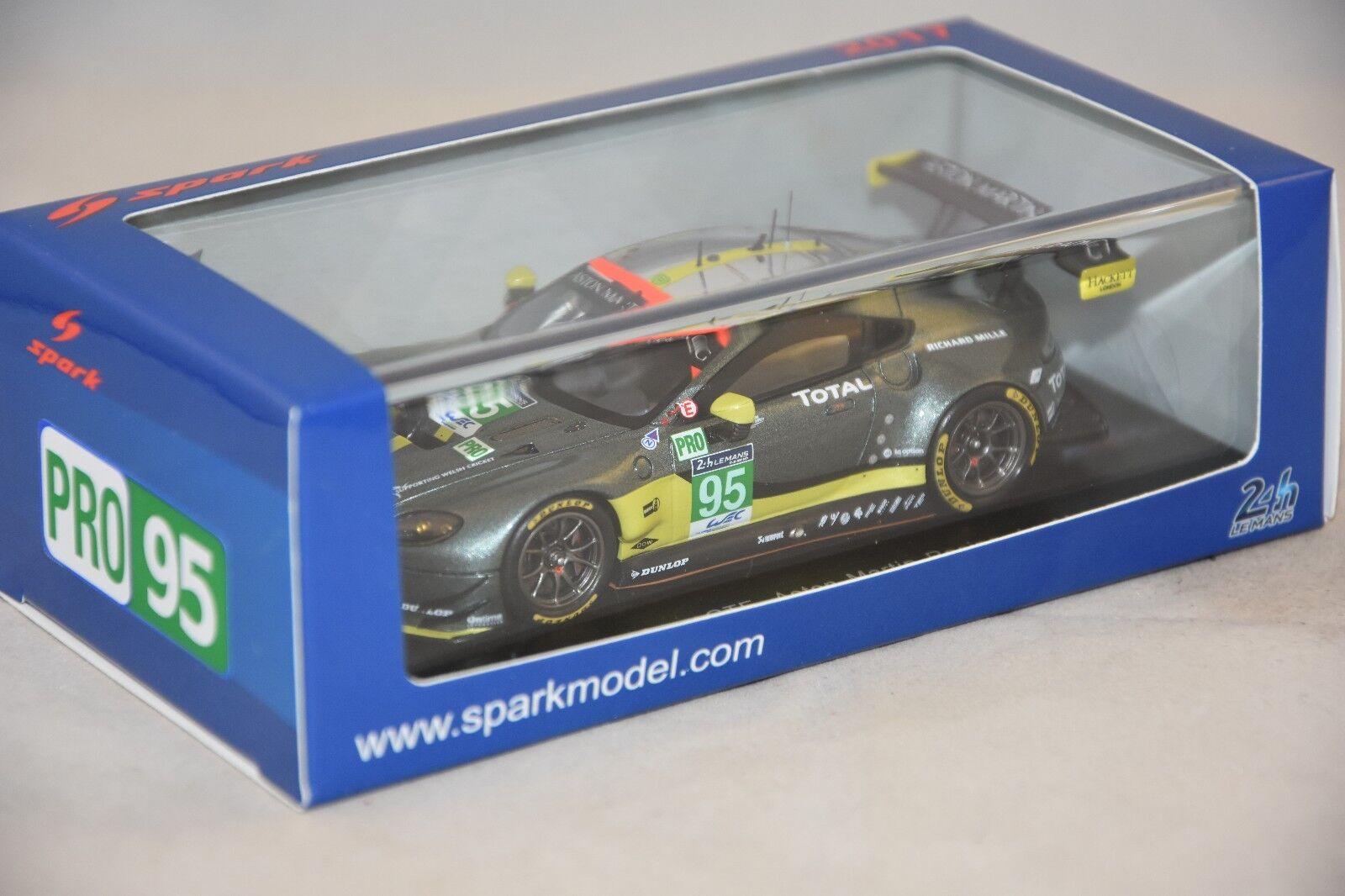 Spark s5835 - Aston Martin Vantage GTE LE MANS 2017 N 95 1/43