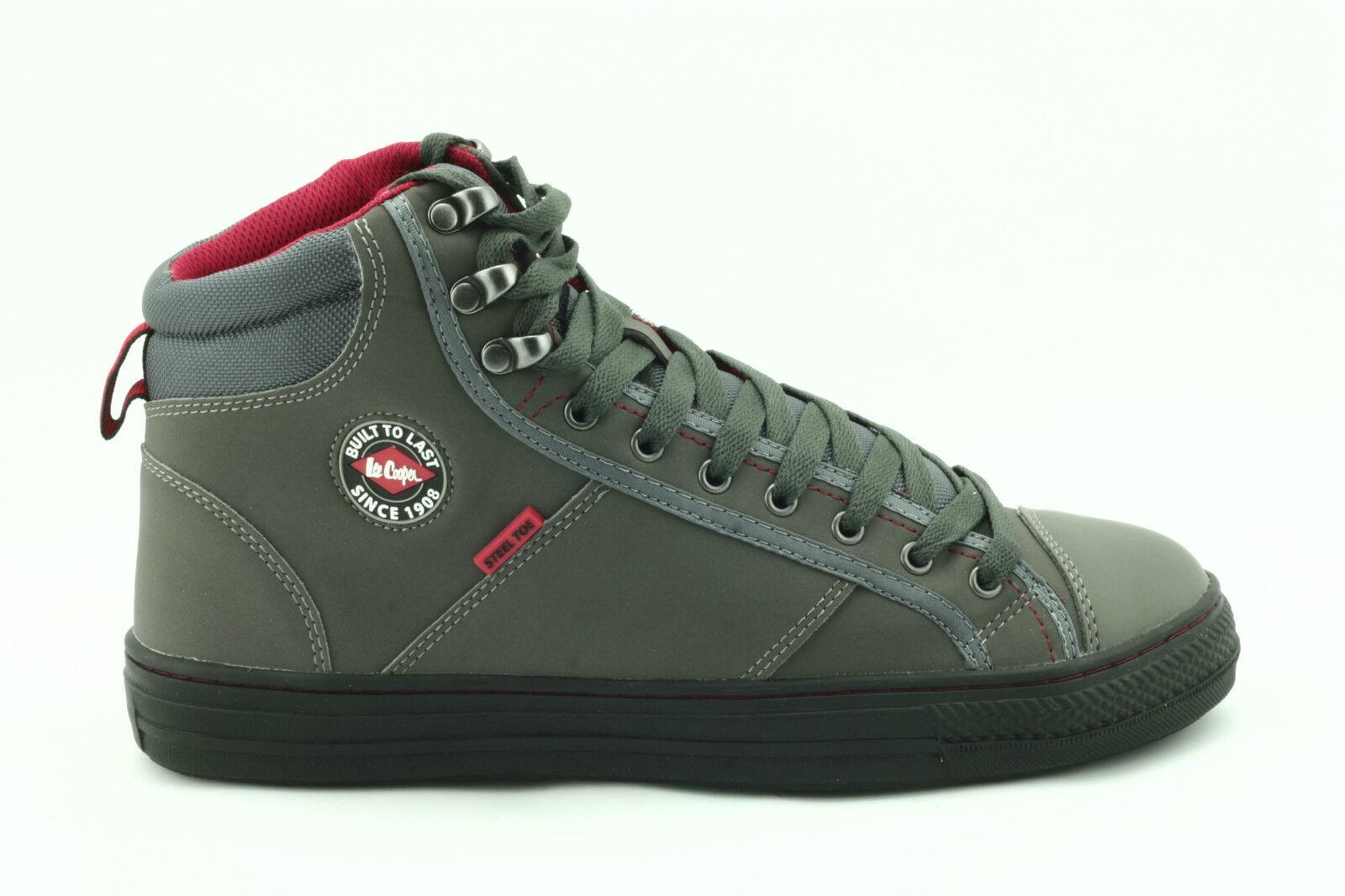 Lee Cooper Workwear Baseball Mens Safety Shoes Grey 9 UK for sale ... 58db9b875