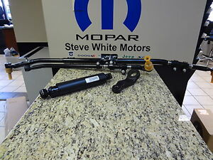 03 12 ram 2500 3500 4x4 steering center drag link pitman tie rod damper mopar ebay. Black Bedroom Furniture Sets. Home Design Ideas