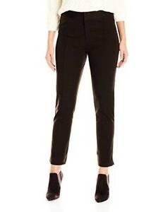 77a4771e043 NWT NYDJ Women s S3104F010 Ankle Pants Ganache (Brown) Bi-Stretch 4 ...