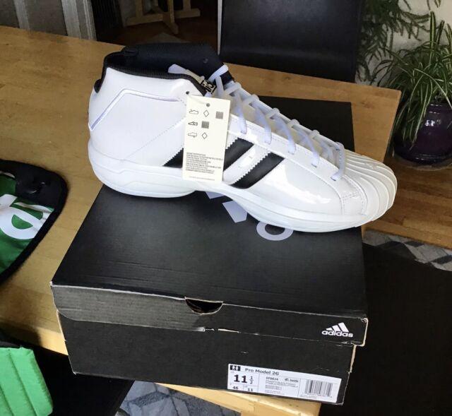 New Adidas Pro Model 2G Patent Leather Men's 11.5