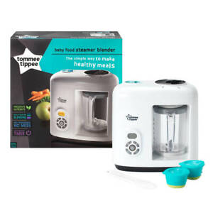 Details About Tommee Tippee Healthy Baby Food Maker Electric Steamer Blenderprocessor Cooker